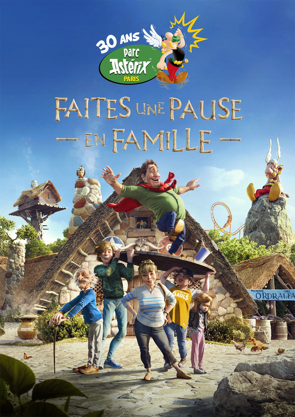 WEEK-END PARC ASTERIX